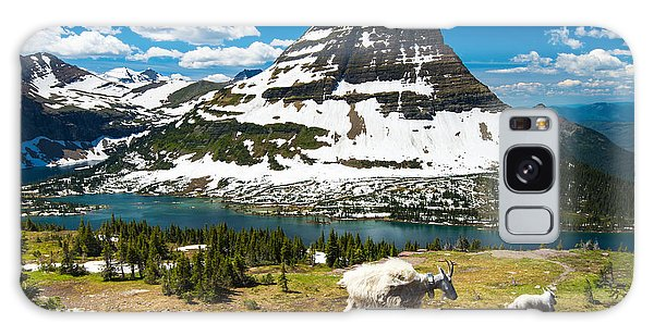 Pass Galaxy Case - Mountain Goats And Hidden Lake, Glacier by Pung