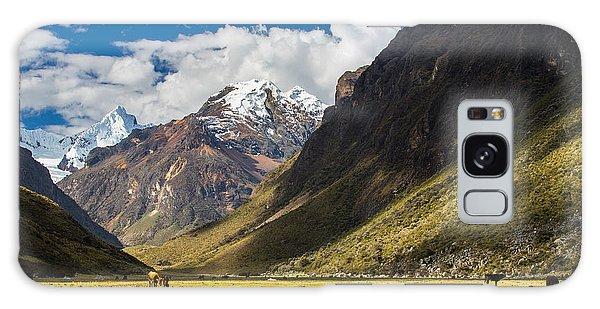Moraine Lake Galaxy Case - Mountain Landscape In The Andes, Peru by Calin Tatu