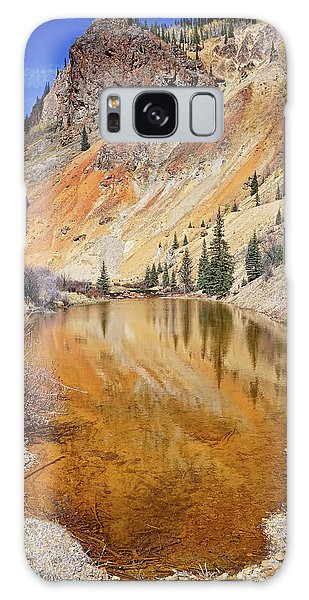 Mountain Reflections Galaxy Case