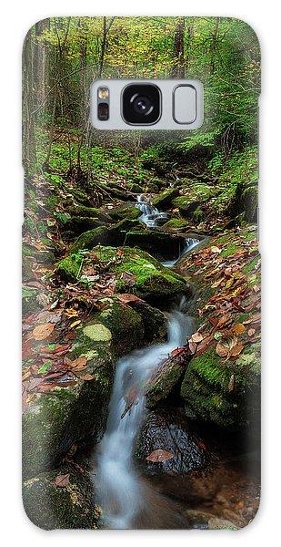 Mountain Stream - Blue Ridge Parkway Galaxy Case