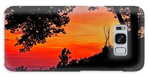 Mountain Sunrise Galaxy Case