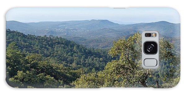 Mountains Of Loule. Serra Do Caldeirao Galaxy Case