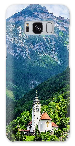 Mountainside Church Galaxy Case