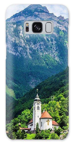 Mountainside Church Galaxy Case