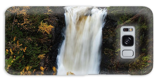 Galaxy Case featuring the photograph Moxie Falls by Rick Hartigan