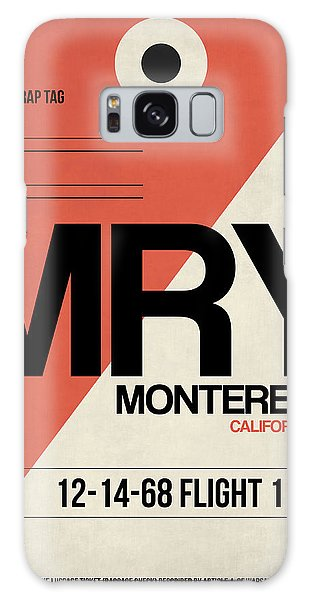 Monterey Galaxy Case - Mry Monterey Luggage Tag I by Naxart Studio