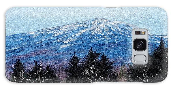 Mt. Monadnock Spring Snow Galaxy Case