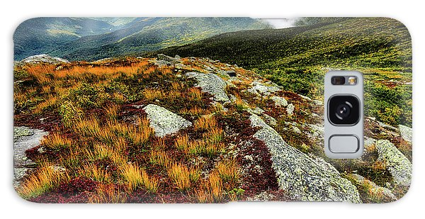 Galaxy Case featuring the photograph Mt. Washington Nh, Autumn Rays by Michael Hubley