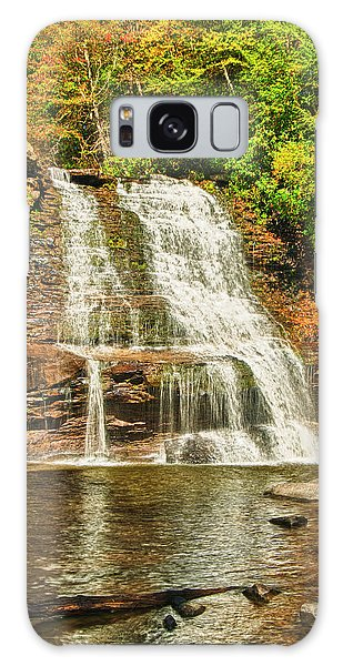 Muddy Creek Falls Galaxy Case