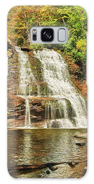 Muddy Creek Falls Galaxy Case