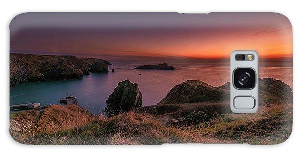 Mullion Cove - Sunset 2 Galaxy Case