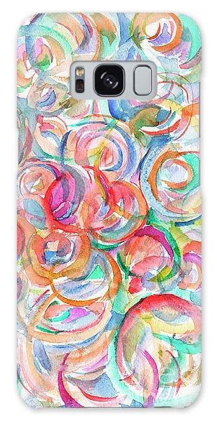 Multicolor Bubbles Galaxy Case