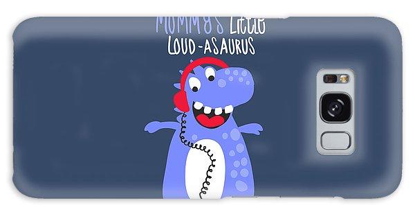 Mummy's Little Loud-asaurus - Baby Room Nursery Art Poster Print Galaxy Case