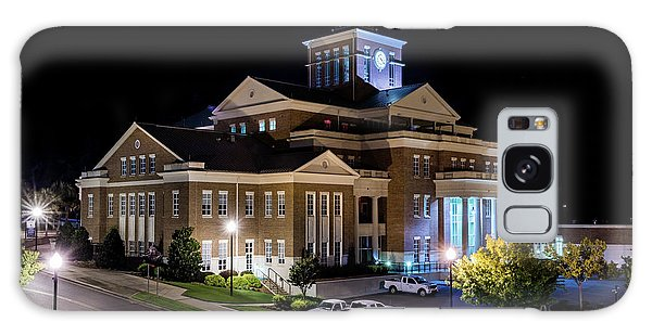 Municipal Center At Night - North Augusta Sc Galaxy Case