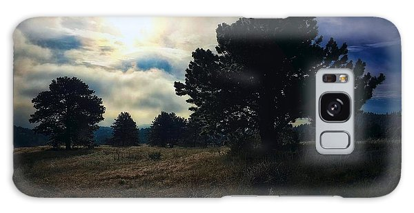 Galaxy Case featuring the photograph Murky Atmosphere Elk Meadow by Dan Miller