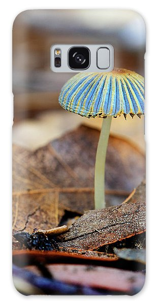 Mushroom Under The Oak Tree Galaxy Case