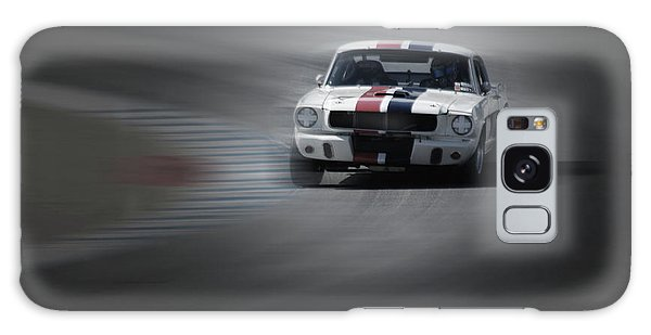 Monterey Galaxy Case - Mustang On The Racing Circuit by Naxart Studio