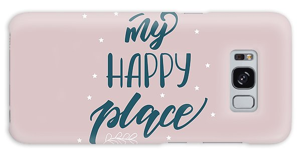 My Happy Place - Baby Room Nursery Art Poster Print Galaxy Case