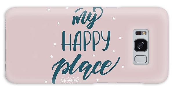 My Happy Place - Baby Room Nursery Art Poster Print Galaxy Case