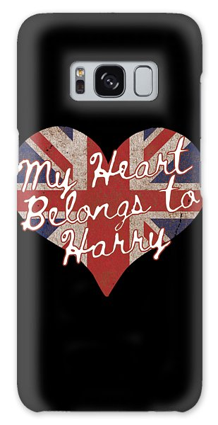My Heart Belongs To Prince Harry Galaxy Case