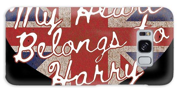 My Heart Belongs To Prince Harry Galaxy Case