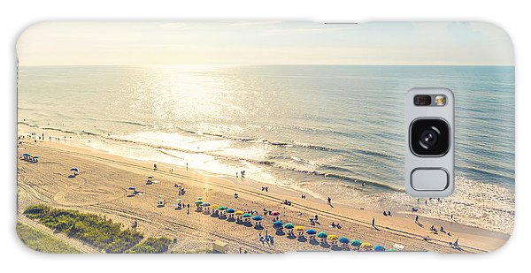 Summertime Galaxy Case - Myrtle Beach South Carolina Aerial View by Tierneymj