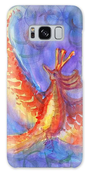 Mystical Phoenix Galaxy Case