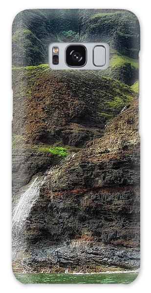 Na Pali Coast Waterfall Galaxy Case