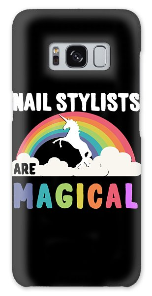 Nail Stylists Are Magical Galaxy Case