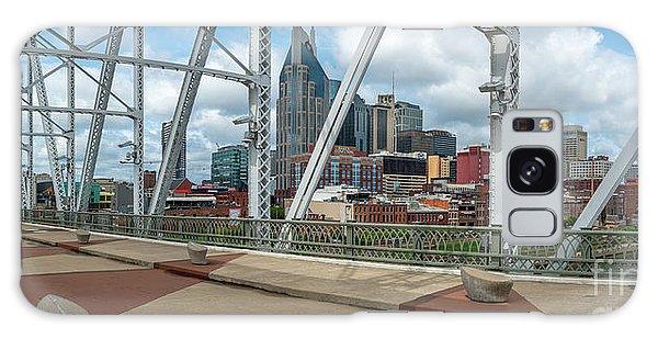Nashville Cityscape From The Bridge Galaxy Case
