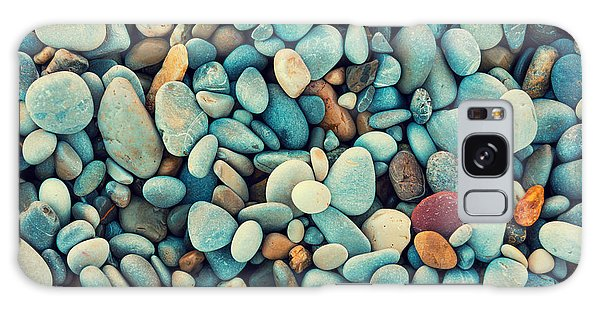 Seashore Galaxy Case - Natural Abstract Vintage Colorful by Vvvita