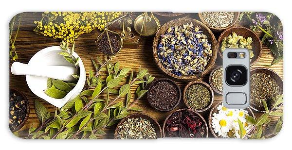 Bath Galaxy Case - Natural Medicine, Herbs by Sebastian Duda