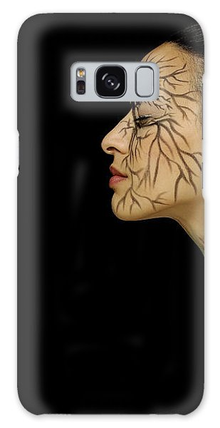 Galaxy Case featuring the photograph Nature Runs Through My Veins by ISAW Company
