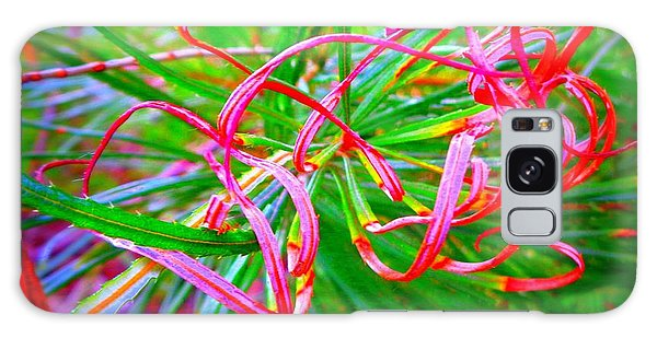 Nature's  Ribbons Galaxy Case