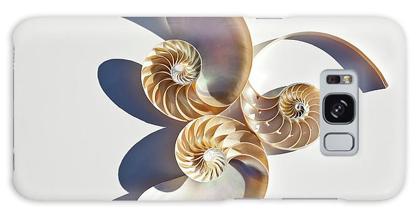 Galaxy Case featuring the photograph Nautilus 0425 by Mark Shoolery