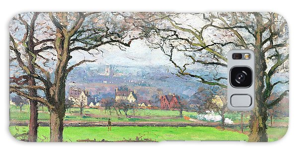 Country Living Galaxy Case - Near Sydenham Hill - Digital Remastered Edition by Camille Pissarro