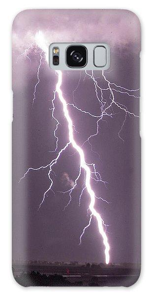 Nebraska Arcus And Lightning 046 Galaxy Case