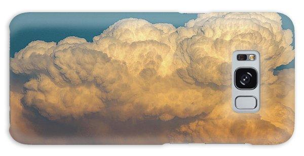 Nebraska Sunset Thunderheads 053 Galaxy Case
