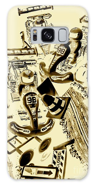 Race Galaxy Case - Need For Sepia by Jorgo Photography - Wall Art Gallery