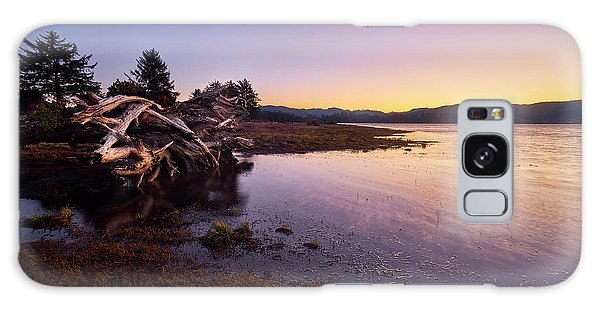 Nehalem Bay Sunrise Galaxy Case