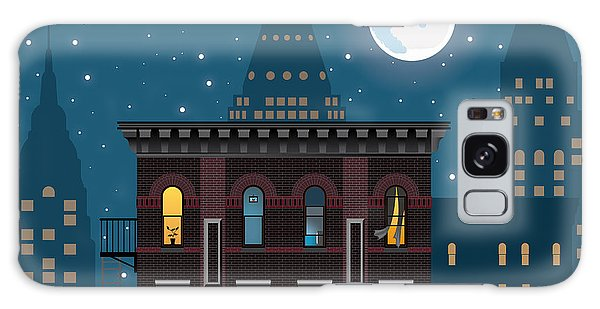 Bricks Galaxy Case - Neighborhood by Nikola Knezevic