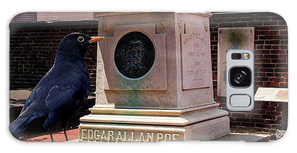 Galaxy Case featuring the photograph Nevermore Quoth The Raven by Bill Swartwout Fine Art Photography