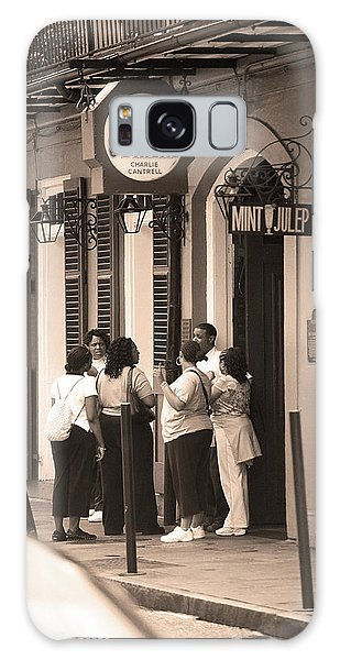 Galaxy Case - New Orleans Bourbon Street 2004 #44 Sepia by Frank Romeo