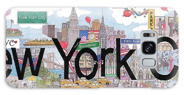 New York City  Galaxy Case