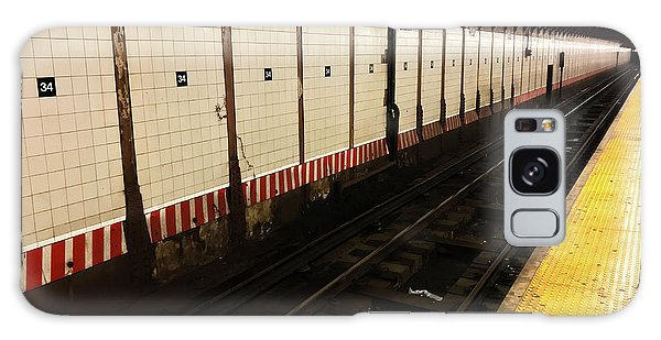 New York City Subway Line Galaxy Case
