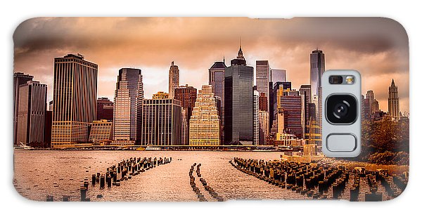 United States Galaxy Case - New York City View Of Lower Manhattan by Littlenystock