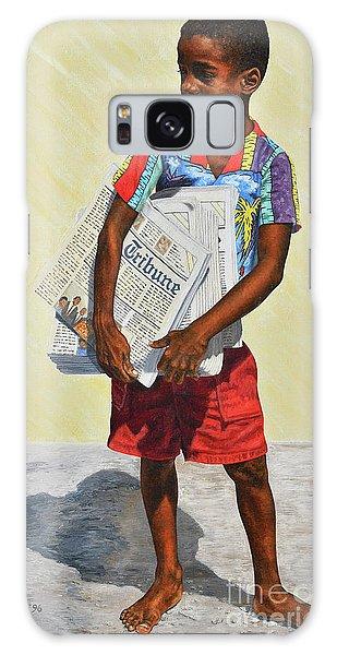 Newspaper Boy Galaxy Case