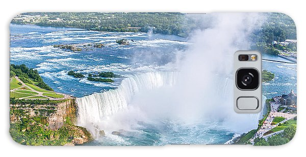 Powerful Galaxy Case - Niagara Falls Aerial View, Canadian by Cpq