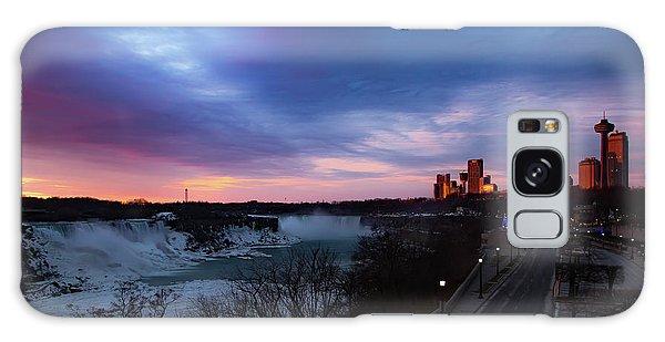 Niagara Falls At Sunrise Galaxy Case