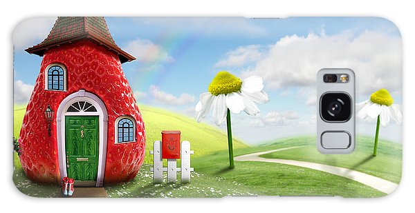 Cottage Galaxy Case - Nice Picture-collage With A Pretty by Oxa